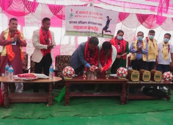 कञ्चनपुरको पुनर्वासमा फुटबल प्रशिक्षण कार्यक्रम सुरु